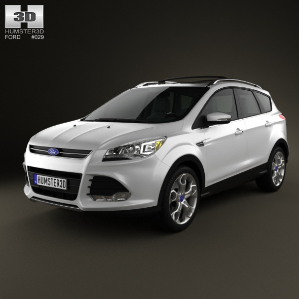 Ford Escape 2013 - 3DOcean Item for Sale