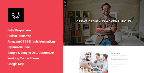 Lupil – Creative Business HTML Template