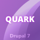 Quark: Responsive Multipurpose Drupal 7 Theme - ThemeForest Item for Sale