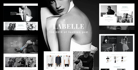 LaBelle – Fashion PSD Templates