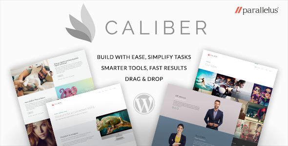Responsive WordPress Theme – Caliber