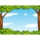 Nature Scene with Tree and Sky - GraphicRiver Item for Sale
