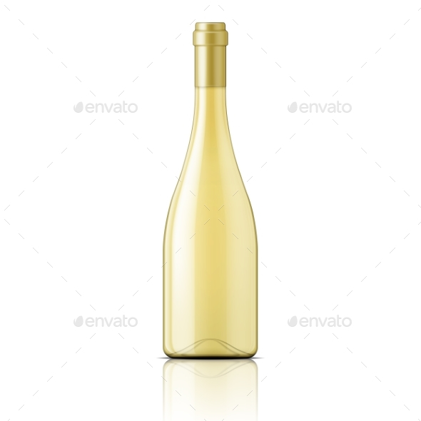 Glass Bottle Filled with White Wine - Backgrounds Decorative