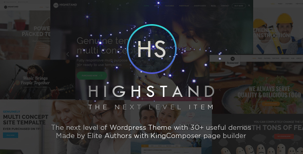 Highstand - Responsive MultiPurpose WordPress Theme