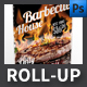 BBQ House Roll-up - GraphicRiver Item for Sale