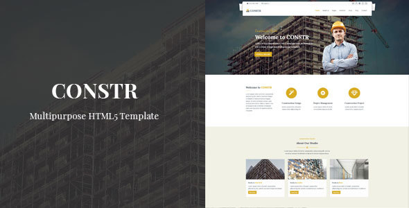 Constr – Multipurpose HTML Template