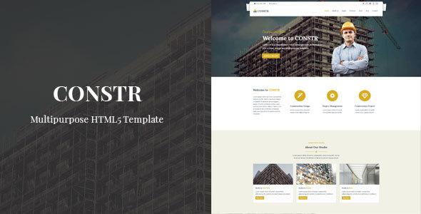 Constr - Multipurpose HTML Template