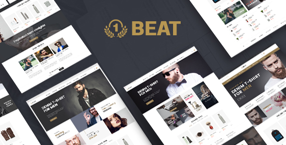 Beatshop Creative WooCommerce WordPress Theme