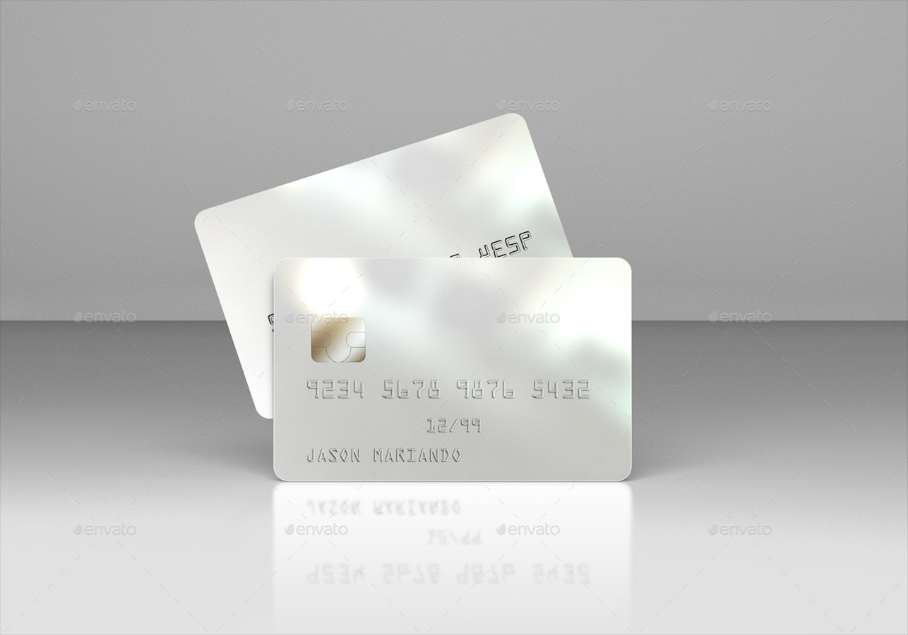Membership Bank Credit Card Mock Up By Ayashi Graphicriver
