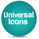 Universal Icons - CodeCanyon Item for Sale