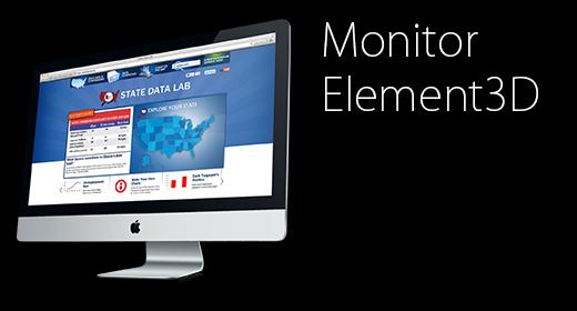 Element3D Monitor
