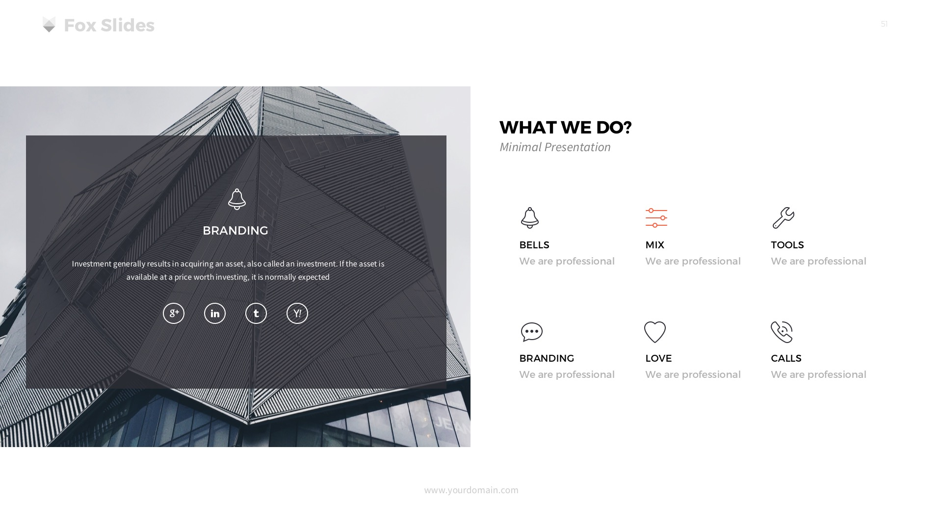Fox - Powerpoint Template by slidefusion | GraphicRiver