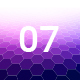 07 Hexagons Backgrounds Hd - GraphicRiver Item for Sale