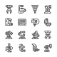 Set Line Icons of Robotic Industry - GraphicRiver Item for Sale