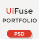 UiFuse - Creative PSD Template Nulled