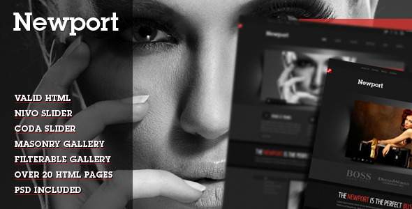 Free Download Newport - Modern HTML Template Nulled Latest Version