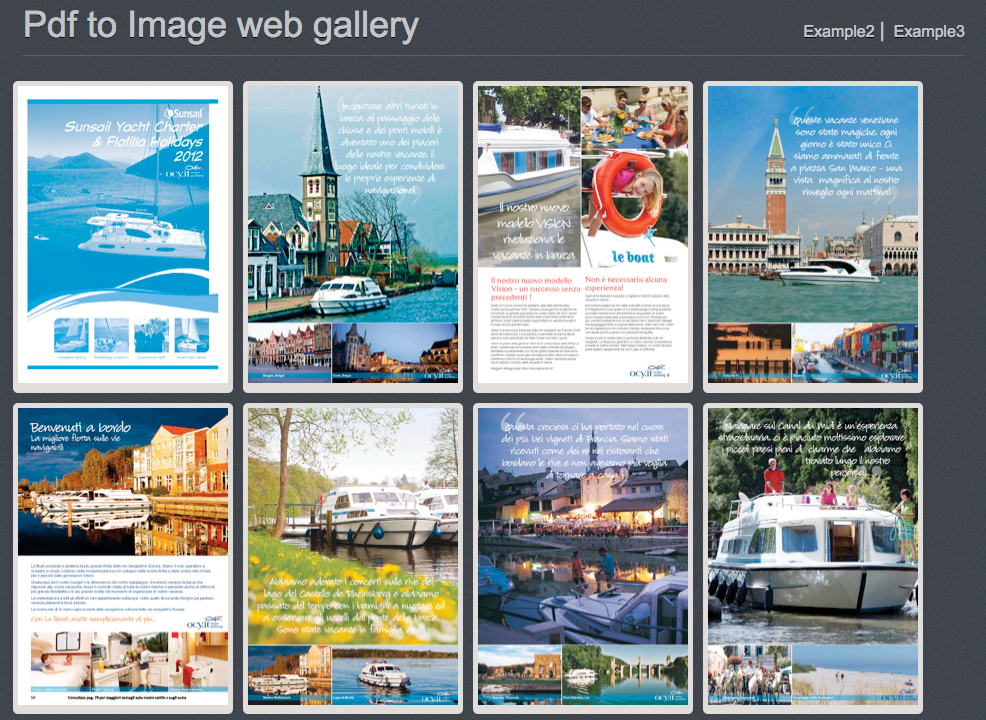 pdf to image web gallery creator and tools by danilotrix86