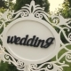 Wedding Pointer Sign At Ceremony - VideoHive Item for Sale