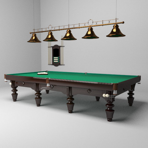 Billiards - 3DOcean Item for Sale