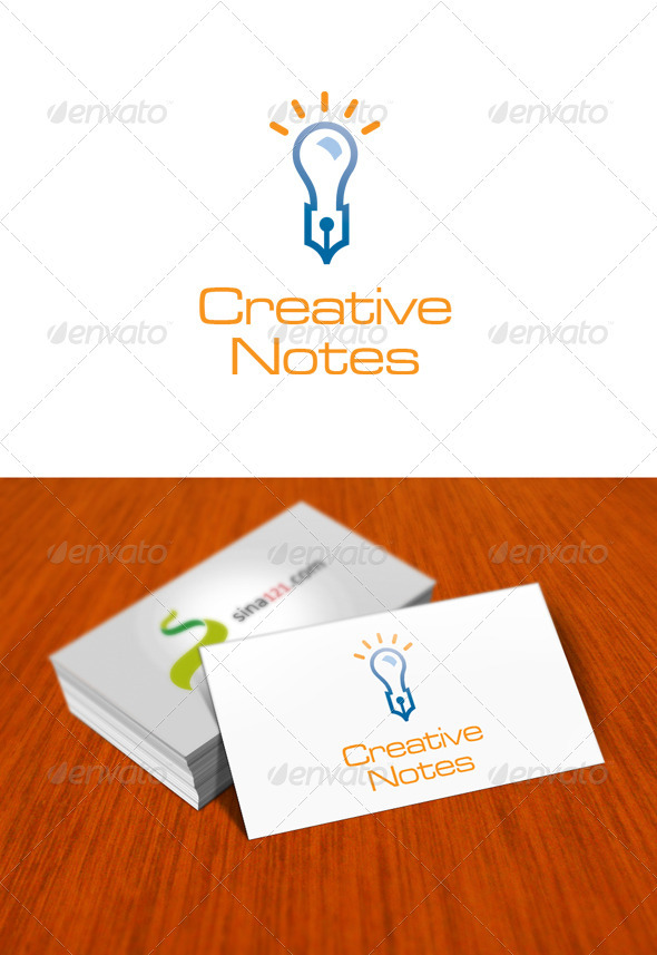 Creative Notes - Objects Logo Templates