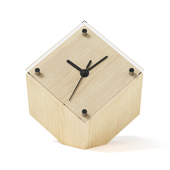 Cubic Clock - 3DOcean Item for Sale