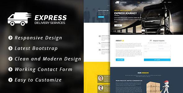 Express – HTML5 Template