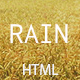 Rain - Creative Minimal HTML Template - ThemeForest Item for Sale