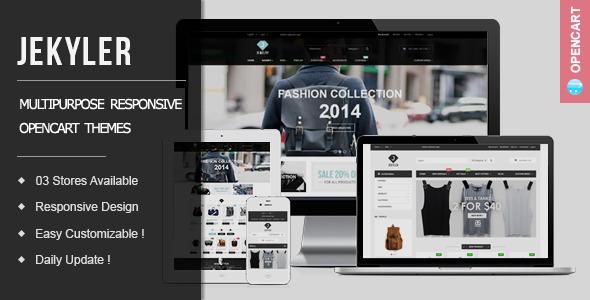 Jekyler - Multipurpose Responsive OpenCart Themes - Fashion OpenCart