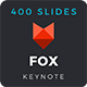 Fox - Keynote Template - GraphicRiver Item for Sale