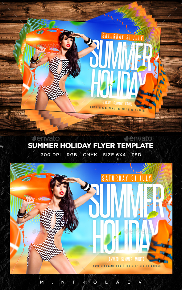 Summer Holiday Flyer V3