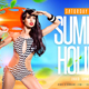 Summer Holiday Flyer V3 - GraphicRiver Item for Sale