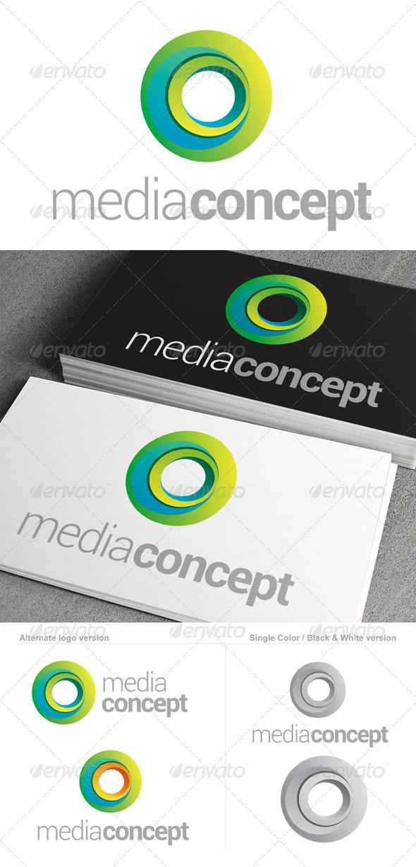 Media Concept Logo Template - Abstract Logo Templates