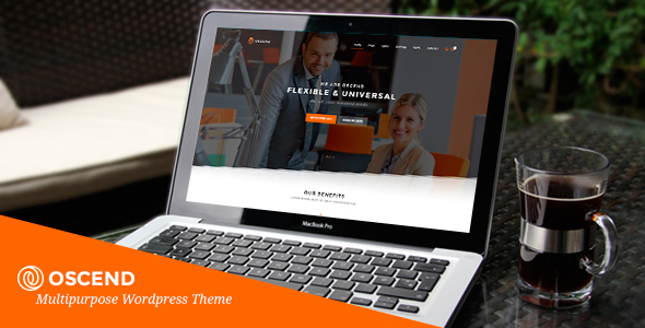 Oscend – Creative Agency WordPress  Theme