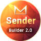 Sender - Responsive Email + MailBuild Online - ThemeForest Item for Sale