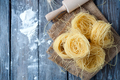 Fresh pasta and ingredient