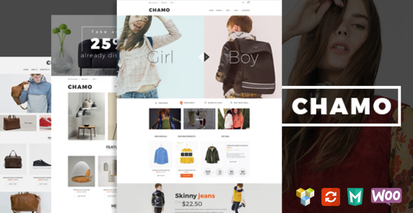 Chamo – Responsive WooCommerce WordPress Theme