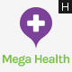Mega Health - Health and Medical Centers HTML5 Template - ThemeForest Item for Sale