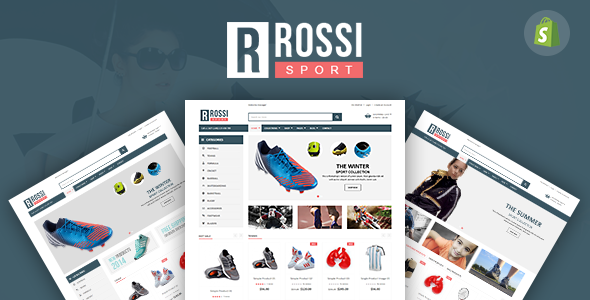 SP Rossi – Clean Responsive Shopify Theme