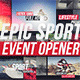 Epic Sport Event Opener - VideoHive Item for Sale