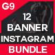 Multipurpose Instagram Bundle-12 Design - GraphicRiver Item for Sale