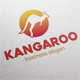 Kangaroo Sport Logo - GraphicRiver Item for Sale