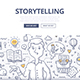 Storytelling Doodle Concept - GraphicRiver Item for Sale