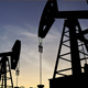 Oil Pumps Silhouette Over Sunset - VideoHive Item for Sale