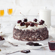 Black Forest Cake, Decorated with Cherries. Schwarzwald Pie. - PhotoDune Item for Sale