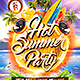 Hot Summer Party Flyer Template - GraphicRiver Item for Sale