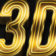 100 3D Shiny Gold Text Effects - GraphicRiver Item for Sale