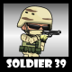 Soldier Character 39 - GraphicRiver Item for Sale