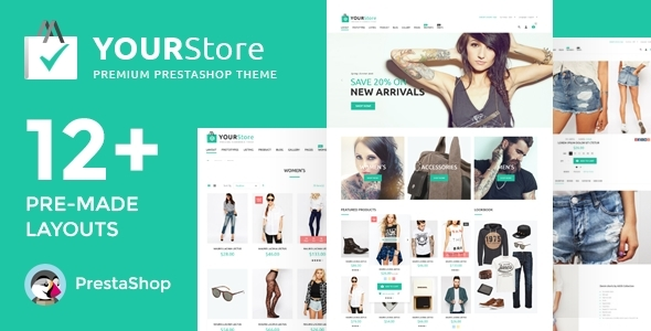 YourStore – PrestaShop theme