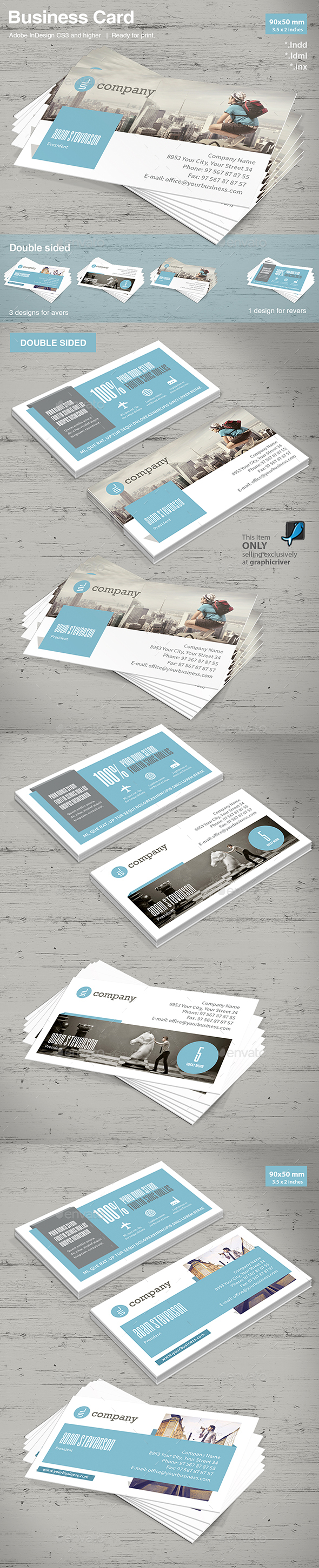Corporate Business Card Vol. 2 - Corporate Business Cards