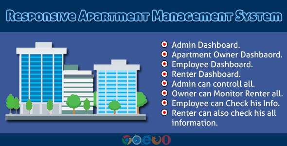 Responsive Apartment Management System - CodeCanyon Item for Sale